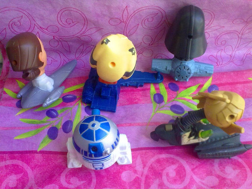 Star Wars Figuras Del Burguer King O Mc Donalds