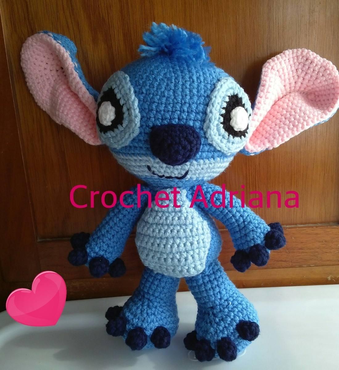 Amigurumi Bobble Stitch : Stitch Amigurumi Tejido Crochet - USD 550.00 en MercadoLibre