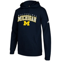 Michigan Wolverines Ncaa Sudadera Adidas