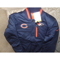 Nfl Chicago Bears Nike Chamarra L Reversible Termica Osos