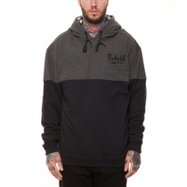 Rebel8 Sudadera Con Gorro Bolted 5-panel Hoodie