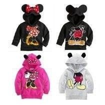 Sueter Minnie Mouse Talla 3 Para Niña Color Fiusha