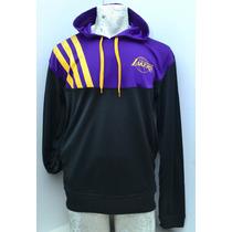 Sudadera De Hombre Adidas Lakers Con Bolsillos Envío Gratis!