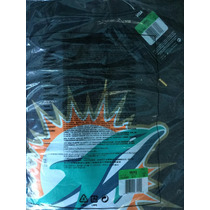 Sudadera Nike Miami Dolphins Charcoal Drive Gold Hoodie