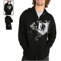 Hot Topic Sudadera Good Charlotte Hail Thee Zip-up Hoodie M