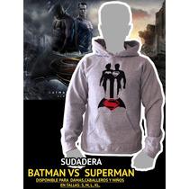 Sudadera Batman Vs Superman Sudadera Super Heroe