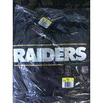 Sudadera Nike Oakland Raiders Charcoal Drive Gold Hoodie