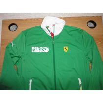 Chamarra Puma Ferrari (felipe Massa) Med Verde 100% Original