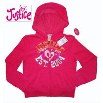 Justice Sudadera Hoodie Para Nina Talla 6 Rosa Hermosa Usa!