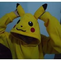 Sudadera De Pikachu Unisex Hoodie Sweater Pokémon
