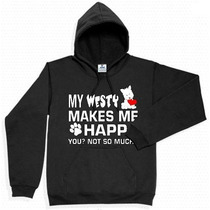 Sudadera Westy West Highland White Diseño Super Original Nue