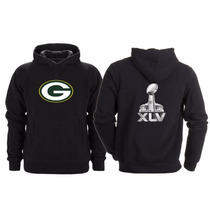 Sudadera Super Bowl 45 Nfl Green Bay Packers Empacadores