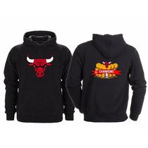 Sudadera Chicago Bulls Campeones Nba Michael Jordan