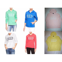 ~sudaderas Gap Mujer Con Gorro Colores Talla S M L $479
