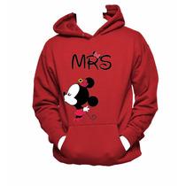 Sudaderas Parejas Enamorados Amigos Novios Mickey Mouse
