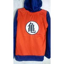 Chamarra Sudadera Dragon Ball Goku Bordado Excelente Calidad