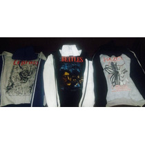 Sudadera Beatles, Metallica, Nirvana, Rolling, Slipk Maiden