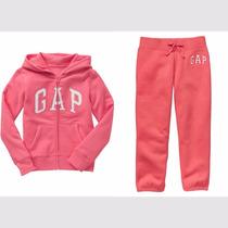 Gap Chamarra Y Pants Capri, Niña Tallas 6-7 Y 10 Años