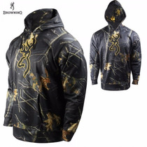 Sudadera Browning Ground Blind Sport Caceria Tiro Co2 Mossy