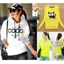 Moda Japonesa Oriental Asiat Hodie Sudadera Abrigo Coco S Xl