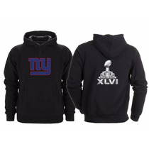 Sudadera Super Bowl 46 Nfl New York Giants Gigantes