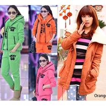 Moda Japonesa Oriental Asiatic Hodie Pants Abrigo Frio S Xl