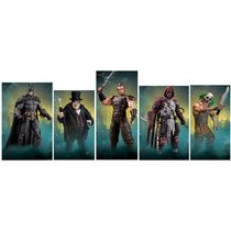 Batman Arkham City Series 03 - Set Of 5