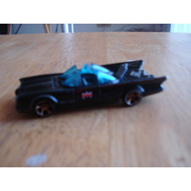 Batimobil Retro Hot Wheels Fierro Dc Comics Mide 9 X 3 Cms
