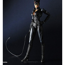 Batman Cat Woman Play Arts Arkham City Figuea Gatubela Maa