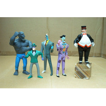 Lee Anunc Gratis Envio X Lote 5 Figura Serie Batman Animate