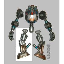 Pierna Derecha De Metallo Pieza Baf Dc Universe Cyborg