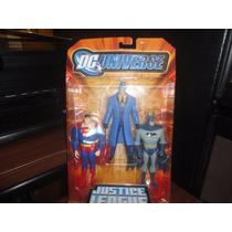 Dc Universe Jlu Unlimited Batman,question Y Superman