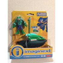 Killer Croc Motocicleta De Imaginext: By Fisher Price.