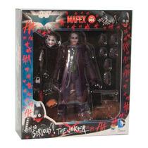 Guason Joker Batman Mafex Ver. 02 Dc Medicom - En Mano