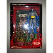 Dc Direct Batman Scarecrow Fear Collector Comic Tipo Hush