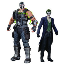 Dc Arkham Origins Series 01 Batman Bane Joker Guason Ps3 Maa