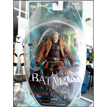 Hush,batman Arkaham City,serie 2,nuevo Sellado,figura 17 Cm