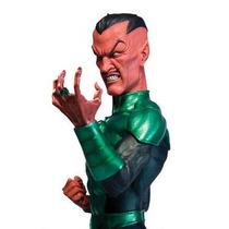 Blackest Night Sinestro Green Lantern Busto Linterna Verde D