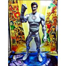 Green Lantern,hal Jordan Plateado,dc Universe,base,loose,