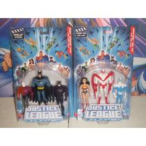 Dc Universe Justice League Unlimited Batman, Hawk, Dove