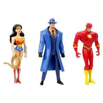 Dc Justice League Unlimited The Question Flash Wonder Woman