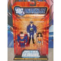 Dc Universe Justice League Unlimited Superman Blackhawk ---