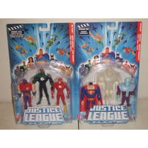 Justice League Unlimited Superman Flash Green Lantern ----