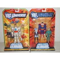 Dc Universe Justice League Unlimited S.t.r.i.p.e Superman