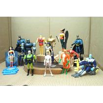 Lee Anuncio Lote Liga D La Justicia De 17 Figura Mattel