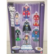 Dc Justice League Batman, Superman Wonder Woman Set Metal
