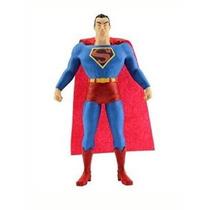 Figura Superman Flexible De Poseable Liga De La Justicia De