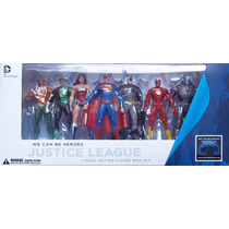 Dc Comics The New 52 Liga De La Justicia 7 Pack