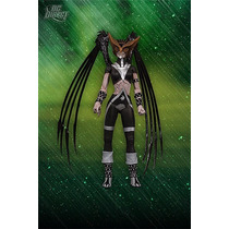 Dc Blackest Night Series 6 Black Lantern Hawkgirl