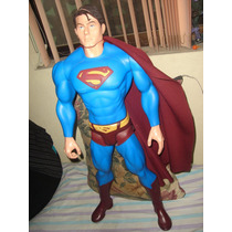 Superman Mattel 75 Cm!! Jla Dc Marvel Universe Spiderman